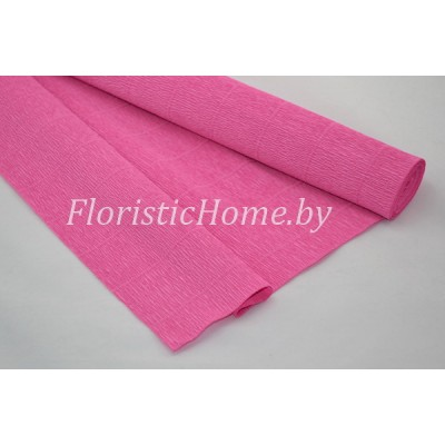 ГОФРОБУМАГА Италия 180 г/м, 550, h 50 см х 250 см, темно-розовый
