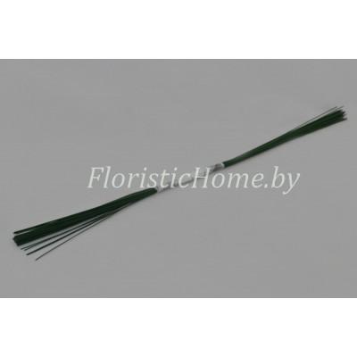ПРОВОЛОКА герберная 50 шт., d 0.7 мм х L 40 см , , зеленый
