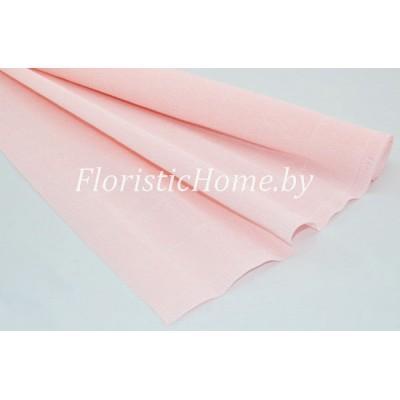 ГОФРОБУМАГА Италия 180 г/м, 616, h 50 см х 125 см ( полрулона), зефирный розовый