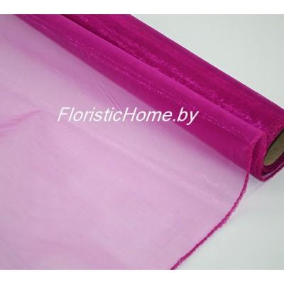 ОРГАНЗА , h 38 см х 8 м, светло-фиолетовый
