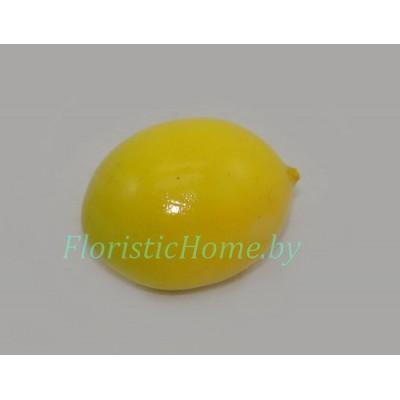 Лимон мини, d 2 см х L 2,5 см, лимонный-салатовый