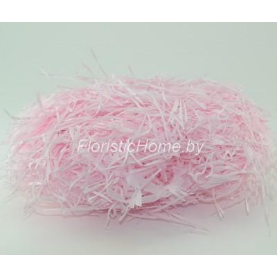 БУМАЖНЫЙ НАПОЛНИТЕЛЬ Тишью, d 2 мм, 25-30 гр., светло-розовый
