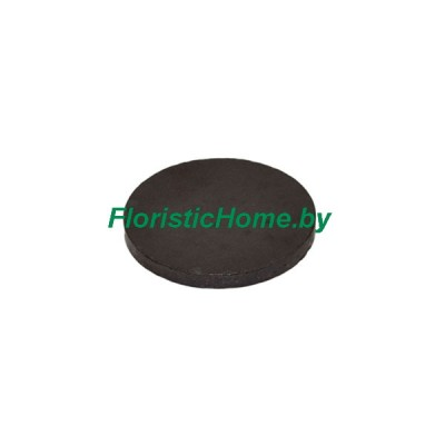 МАГНИТНЫЕ ДИСКИ ферритовые 1 шт., d 2,5 см x h 3 мм, черный
