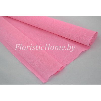 ГОФРОБУМАГА Италия 180 г/м, 549, h 50 см х 125 см ( полрулона), розовый