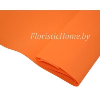ФОАМИРАН Иранский (№ 007/125) 0,8 - 1мм, L 60 см х h 35 см., оранжевый