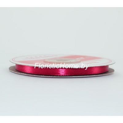 ЛЕНТА атласная, h 0,6 см х 27 м , малиново-вишневый