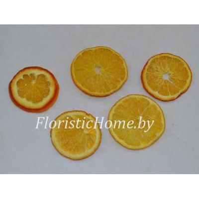 ПЛОДЫ Срезы апельсина 5 шт., , d 4-6 см, оранжевый