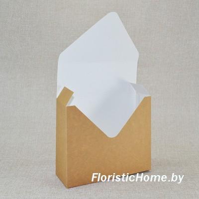 КОНВЕРТ Коробка, 17 см х 6 см х h 29,5 см, Дизайн №30