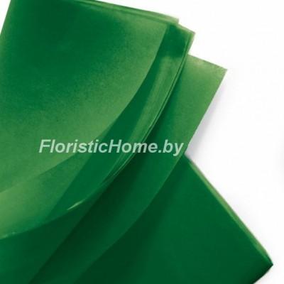 БУМАГА ТИШЬЮ 1 шт., h 50 см х L 75 cм, зеленый