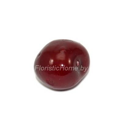 Ягода черешни, d 2,6 см, темно-красный