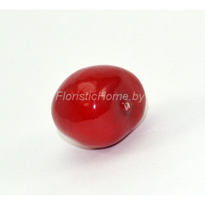 Ягода черешни, d 2,6 см, красный
