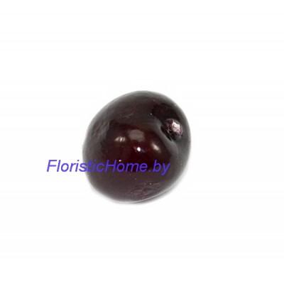 Ягода черешни, d 2,6 см, бордовый