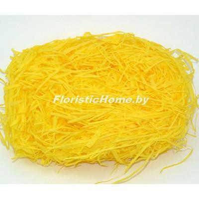 БУМАЖНЫЙ НАПОЛНИТЕЛЬ Тишью, d 2 мм, 25-30 гр., темно-желтый