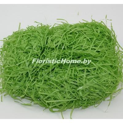 БУМАЖНЫЙ НАПОЛНИТЕЛЬ Тишью, d 2 мм, 25-30 гр., светло-зеленый