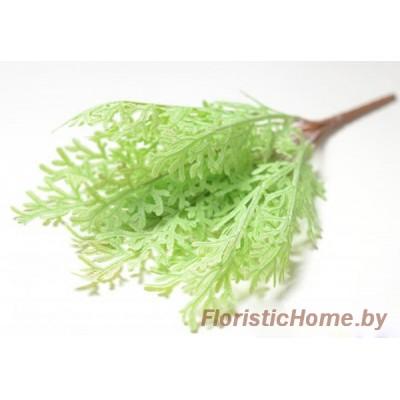 ВЕТКА Куст водоросли, Пластик, L 46 см, нежно-теплая мята