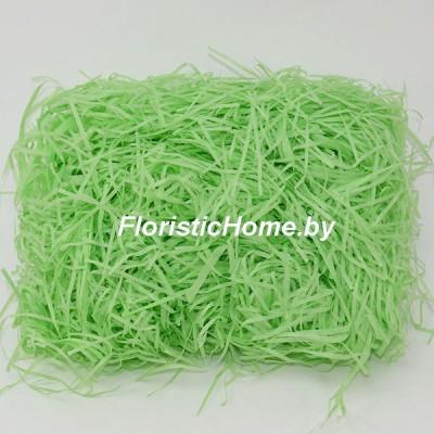 БУМАЖНЫЙ НАПОЛНИТЕЛЬ Тишью, d 2 мм, 15-20 гр., зеленое яблоко