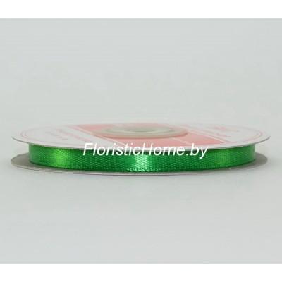 ЛЕНТА атласная, h 0,6 см х 27 м , светло-зеленый