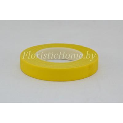 ТЕЙП-ЛЕНТА , ш. 1,3 см х L 27 м, желтый