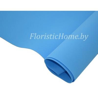 ФОАМИРАН Зефирный 0,6 - 0,8 мм, L 50 см х h 50 см., синий