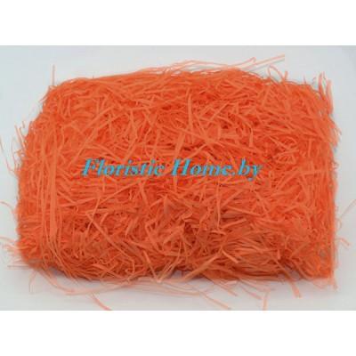 БУМАЖНЫЙ НАПОЛНИТЕЛЬ Простой, d 2 мм, 25 гр., темно-оранжевый