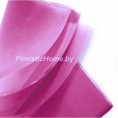 БУМАГА ТИШЬЮ 1 шт., h 50 см х L 75 cм, светло-пурпурный