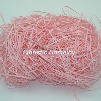БУМАЖНЫЙ НАПОЛНИТЕЛЬ Простой, d 2 мм, 25 гр., светло-розовый
