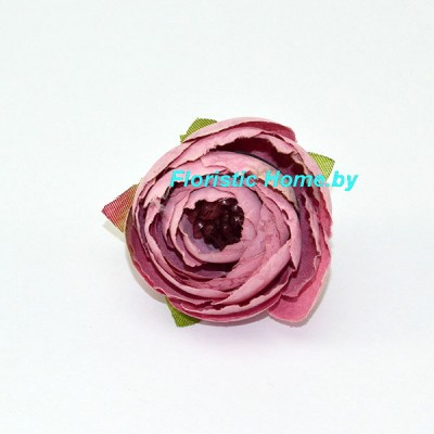 ГОЛОВКИ ЦВЕТОВ Камелия , d 4 см, светло-лиловый