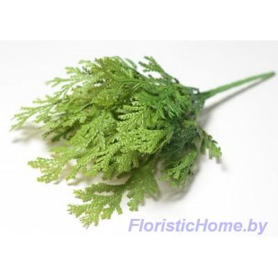 ВЕТКА Куст туи, Пластик, L 41 см, травяной-зеленый