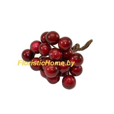 Тычинки 20 шт., d 1,2 см, бордовый