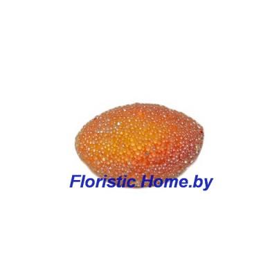 Манго в сахаре, d 3 см, красный-оранжевый