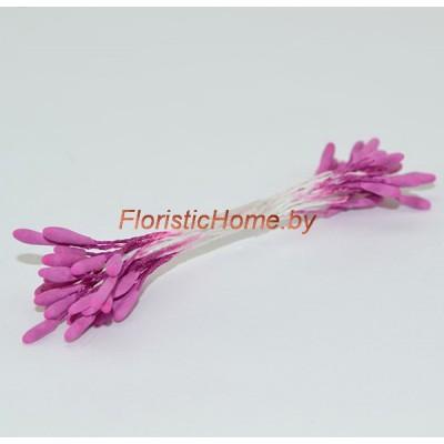 ТЫЧИНКИ Тайские удлиненные 25 штук в пучке , 2 мм, пурпурный,