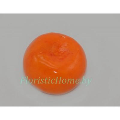 Мандарин, d 3,5 см, оранжевый