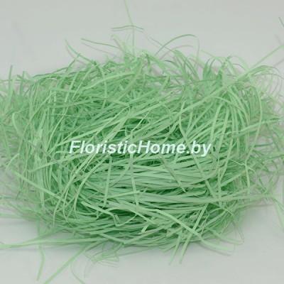 БУМАЖНЫЙ НАПОЛНИТЕЛЬ Простой, d 2 мм, 25 гр., мятно-зеленый