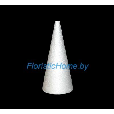 ПЕНОПЛАСТОВЫЙ КОНУС Усечённый, h 20 см х d 9 см , белый