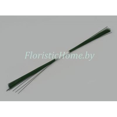 ПРОВОЛОКА герберная 50 шт., d 0.8 мм х L 40 см , , зеленый