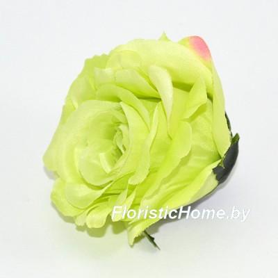 ГОЛОВКИ ЦВЕТОВ Роза бутон, d 6 см x L 6,5 см, салатовый