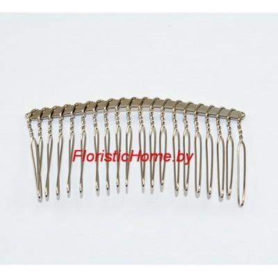 ГРЕБЕНЬ , металлический, L 7,7 см, стальной