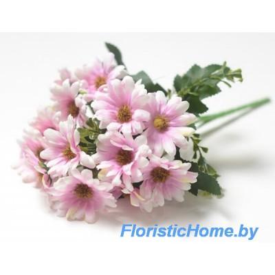 БУКЕТ ЦВЕТОВ Хризантемы, L 28 см, розово-лавандовый