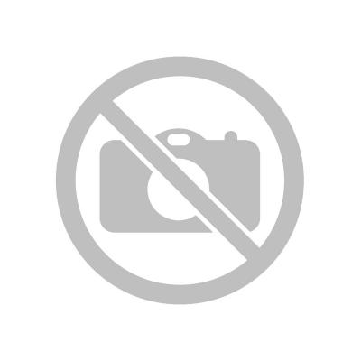 ВЕТКА Базилика с закругленными листиками, Пластик с напылением, L 23 см, зеленый-желтый